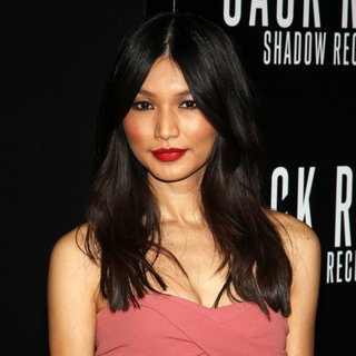 Gemma Chan in Los Angeles Premiere of Jack Ryan: Shadow Recruit - Red Carpet Arrivals