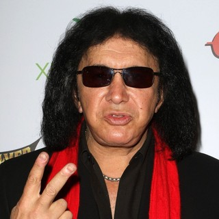 Gene Simmons, KISS in 2012 Revolver Golden Gods Awards Show