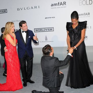 John Travolta - amfAR 21st Annual Cinema Against AIDS During The 67th Cannes Film Festival