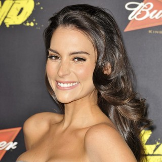 Genesis Rodriguez in The World Premiere of The Last Stand