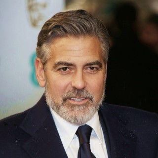 George Clooney in The 2013 EE British Academy Film Awards - Arrivals