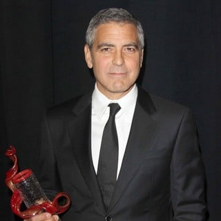 George Clooney in The 23rd Annual Palm Springs International Film Festival Awards Gala - Press Room