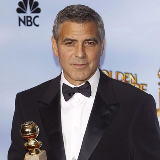 George Clooney in The 69th Annual Golden Globe Awards - Press Room