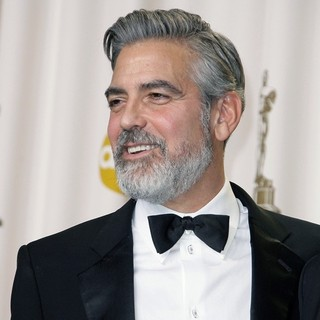 George Clooney in The 85th Annual Oscars - Press Room