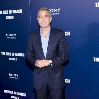 George Clooney in New York Premiere of The Ides of March - Arrivals