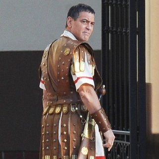 George Clooney - On The Set of Hail Caesar