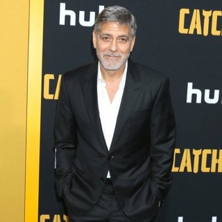 George Clooney in Catch-22 Premiere