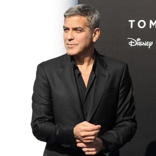 George Clooney - Tomorrowland Premiere