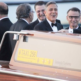 George Clooney - The Wedding of George Clooney and Amal Alamuddin