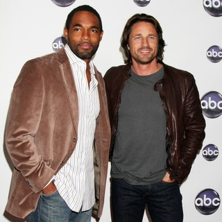 Jason George in The Disney ABC Television Group's TCA Winter 2011 Press Tour Party - george-henderson-tca-winter-2011-press-tour-party-01