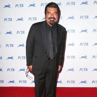 George Lopez in PETA's 35th Anniversary Bash
