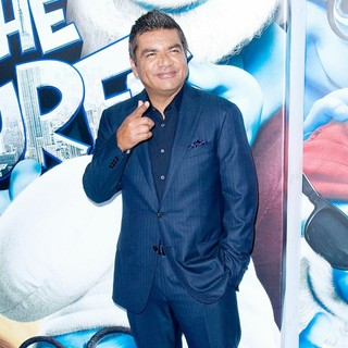 George Lopez in The Smurfs World Premiere - Arrivals