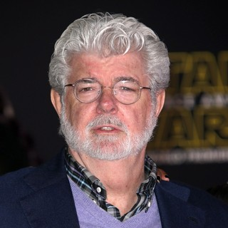 George Lucas in Premiere of Star Wars: The Force Awakens