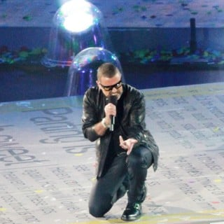 George Michael in London 2012 Olympic Games - Closing Ceremony