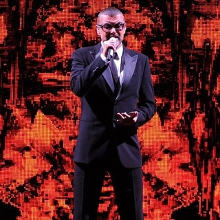 George Michael in George Michael Performs During A Sold Out Concert