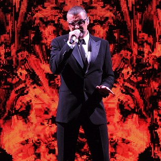 George Michael Performs During A Sold Out Concert