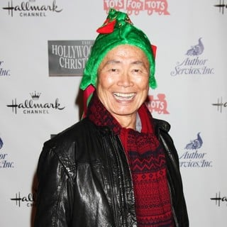 George Takei in 2012 Hollywood Christmas Parade Benefiting Marine Toys for Tots - Arrivals