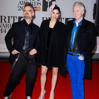 Boy George, Philip Treacy in The Brit Awards 2014 - Arrivals