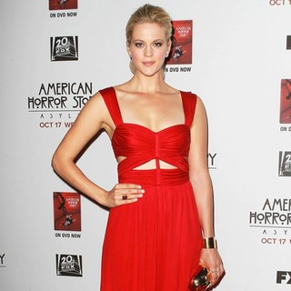 Georgia King in Premiere Screening of FX's American Horror Story: Asylum