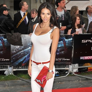 Georgia Salpa in The Premiere of The Amazing Spider-Man