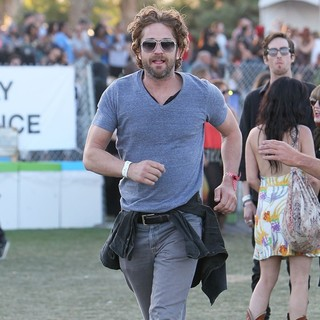 Gerard Butler in Celebrities at The 2012 Coachella Valley Music and Arts Festival - Day 3