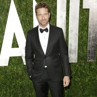 Gerard Butler in 2013 Vanity Fair Oscar Party - Arrivals - gerard-butler-2013-vanity-fair-oscar-party-05