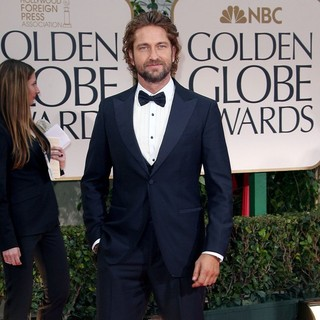 Gerard Butler in The 69th Annual Golden Globe Awards - Arrivals