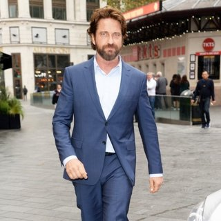 Gerard Butler at Global House