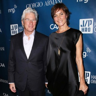 Richard Gere, Carey Lowell in 2nd Annual Sean Penn and Friends Help Haiti Home Gala Benefiting J-P HRO Presented by Giorgio Armani