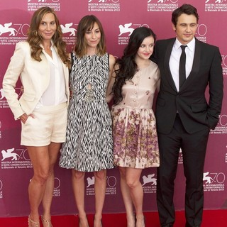 Jacqui Getty, Gia Coppola, Claudia Levy, James Franco in 70th Venice Film Festival - Palo Alto - Photocall