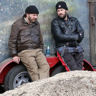 Paul Giamatt, iPaul Rudd in Filming on Location The Comedy Movie Lucky Dog
