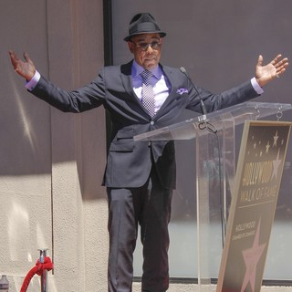 Giancarlo Esposito is Honored with A Star on The Hollywood Boulevard Walk of Fame