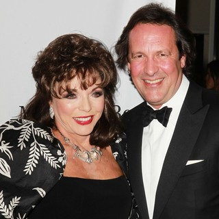 Joan Collins, Percy Gibson in 26th Anniversary Carousel of Hope Ball - Presented by Mercedes-Benz - Arrivals