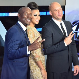 Tyrese Gibson, Lyndriette Kristal Smith, Vin Diesel in World Premiere of Fast and Furious 6 - Arrivals