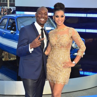 Tyrese Gibson, Lyndriette Kristal Smith in World Premiere of Fast and Furious 6 - Arrivals