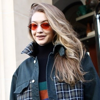 Gigi Hadid in Gigi Hadid Out and About in Paris