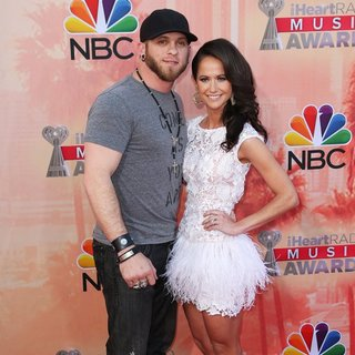 Brantley Gilbert, Amber Cochran in 2nd Annual iHeartRadio Music Awards - Arrivals