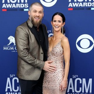 Brantley Gilbert, Amber Cochran in 54th Academy of Country Music Awards - Arrivals