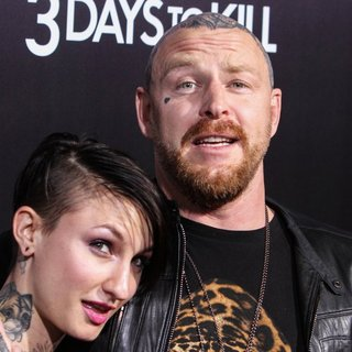 Katie Gilbert, Jason Ellis in 3 Days to Kill Premiere - Red Carpet Arrivals