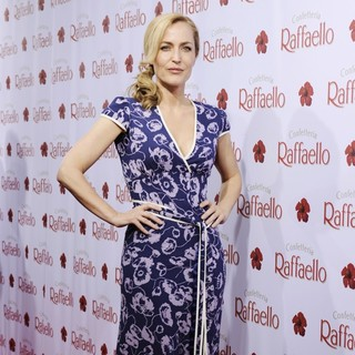 Gillian Anderson in The Raffaello Summer Day Event