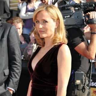 Gillian Anderson in The World Premiere of Johnny English Reborn