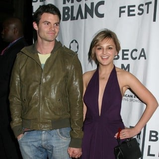 Daniel Gillies, Rachael Leigh Cook in MontBlanc De La Culture Awards