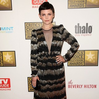 Ginnifer Goodwin in 2012 Critics' Choice TV Awards - Arrivals