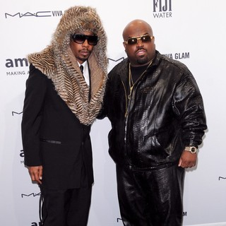 Big Gipp, Cee-Lo in The amfAR Gala 2013
