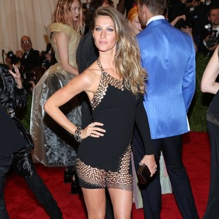 Gisele Bundchen in PUNK: Chaos to Couture Costume Institute Gala