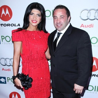 Teresa Giudice, Joe Giudice in The Point Foundation's 4th Annual Point Honors New York Gala - Arrivals