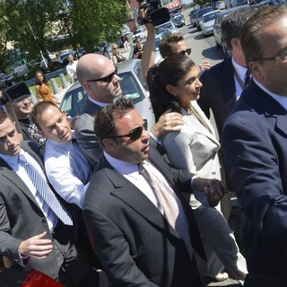 Joe Giudice, Teresa Giudice in Teresa Giudice and Joe Giudice Arrive at Federal Court