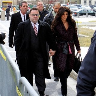 Teresa Giudice - Teresa Guidice and Joe Giudice Outside Federal Court