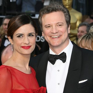 Livia Giuggioli, Colin Firth in 84th Annual Academy Awards - Arrivals