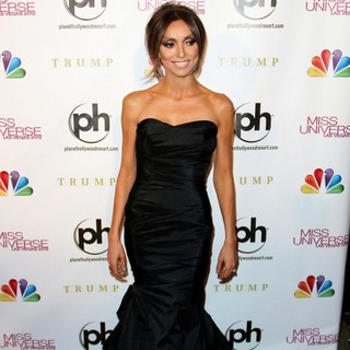 Giuliana Rancic in 2012 Miss Universe Pageant - Arrivals